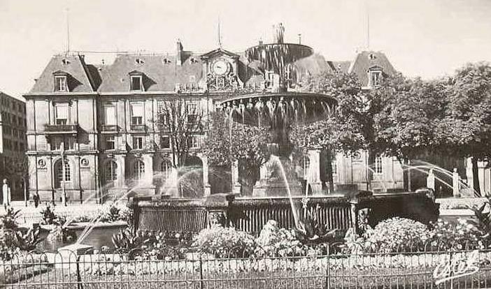 Photographies anciennes du Palais de l'Université de Nancy
