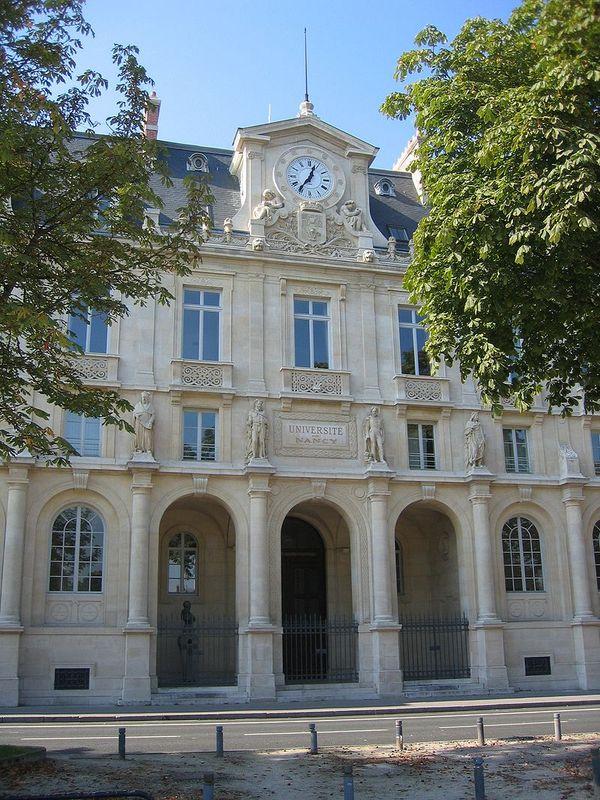 Construction du Palais de l'Académie
