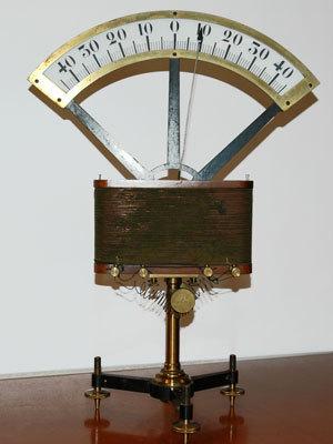 Galvanomètre de Bourbouze