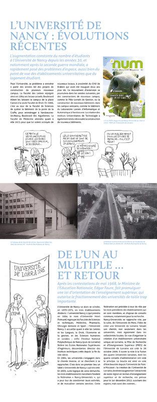 L'Université de Nancy : évolutions récentes - De l'un au multiple … et retour