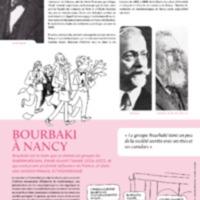Mathématiciens nancéiens - Bourbaki à Nancy